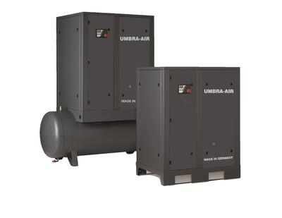 Skruekompressor UMBRA-AIR 7,5 kW 8 bar 270 ltr beh.