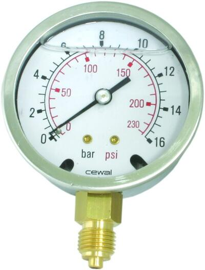 Manometer Ø100 - GC15