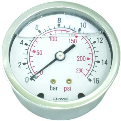 Manometer Ø63 - GC18