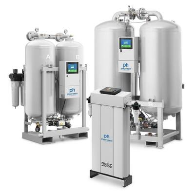 Adsorptionstørrer Pneumatech 28800 ltr/min Max. 11 bar