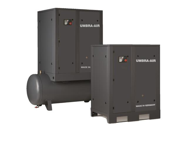 Skruekompressor UMBRA-AIR 7,5 kW 8 bar 500 ltr beh.
